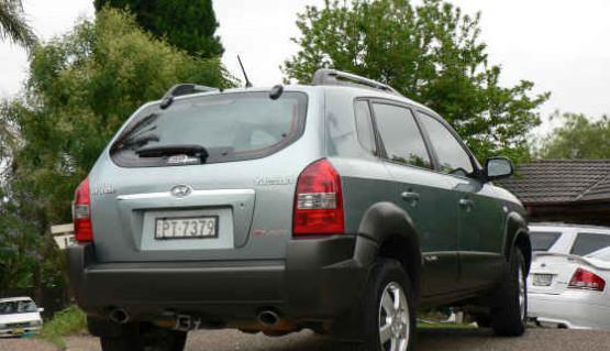 Lift kit 50mm for Hyundai Tucson 2004 - 2013 & Kia Sportage 2004 - 2010