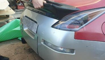 Ducktail for Nissan 350z rear boot trunk spoiler Fairlady Z z33 lip wing RB