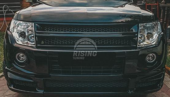 Roar front lip for Mitsubishi Pajero 4 / Montero / Shogun 2011-2014 restyled