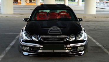 Eyelids eyebrows for Lexus GS300 GS400 GS430 Toyota Aristo Headlights Covers eyelash cilia