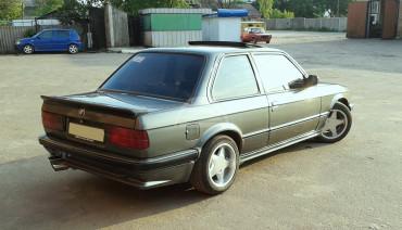 M-tech rear trunk spoiler for BMW 3 series e30 1981-1991 Sedan Coupe