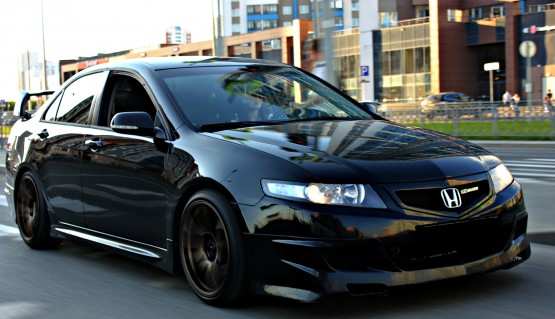 Side Skirts Mugen Style for Honda Accord 7 / Acura TSX 2006 - 2008 CL7 / CL9 Body Kit Type-S