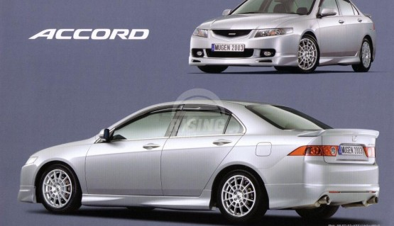 Mugen ducktail spoiler for Honda Accord 7 / Acura TSX CL 2003 - 2008 Rear Wing