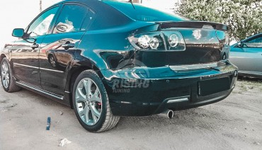 Ducktail spoiler 2.0L for Mazda 3 Sedan (BK) / 2003 - 2009