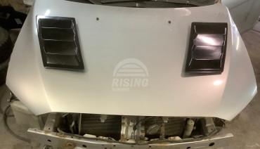 DOUBLE BOOST 2 Universal hood vents UNCUT HOLES