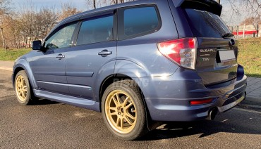 Rear middle tail Spoiler for Subaru Forester SH S12 2007-2013
