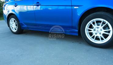 BRABUS CRD Side Skirts or Mitsubishi Lancer X 2007-2017