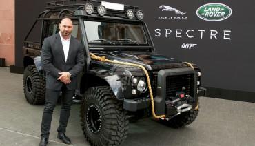 Spectre fender flares for Land Rover Defender 1990-2016, James Bond car style