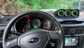 Gauge pod 60mm for Subaru Forester SG textured
