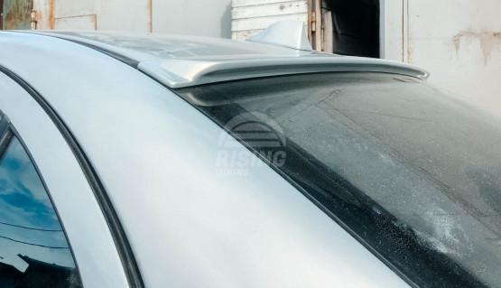 Rear window ducktail spoiler for Mitsubishi Lancer X 2007 - 2017 sedan