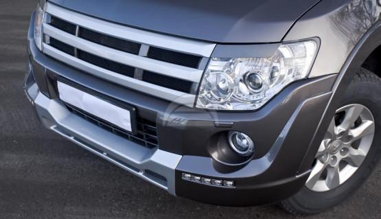 Rhino sport MMC front grille for Mitsubishi Pajero /Montero 4, V80,V90 2006-2015