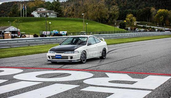 Spoon front lip spoiler for Honda Integra DC2, DC1. 1995 - 2000