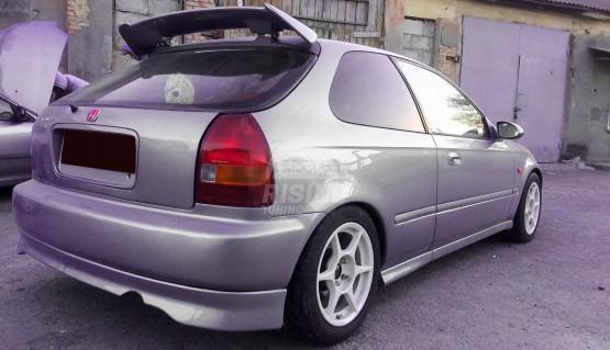 VTi rear bumper lip for Honda Civic EK Hatchback 1996 - 2001