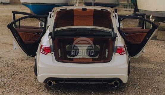 Diffuser for rear Modulo bumper for Honda Accord 8 / Acura TSX CU2 2008 - 2013