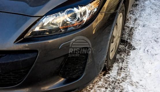 Front eyelids for Mazda 3  Axela, MPS, Mazdaspeed3, BL 2008 - 2013