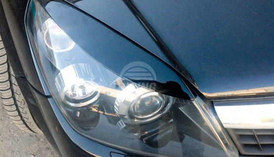 Front eyelids for Vauxhall Astra H, Opel Astra GTC Family H 2004 - 2011