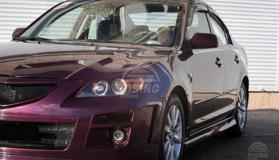 Front eyelids for Mazda 3 Axela BK 2006 - 2009