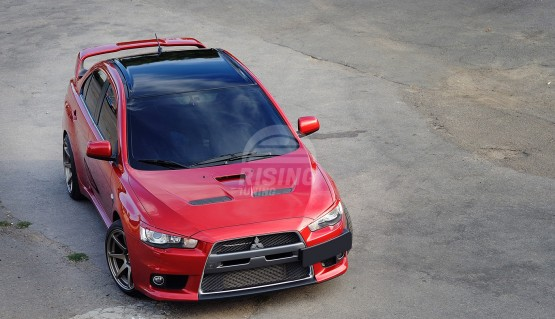 Front eyelids for Mitsubishi Lancer 10 X 2007-2017