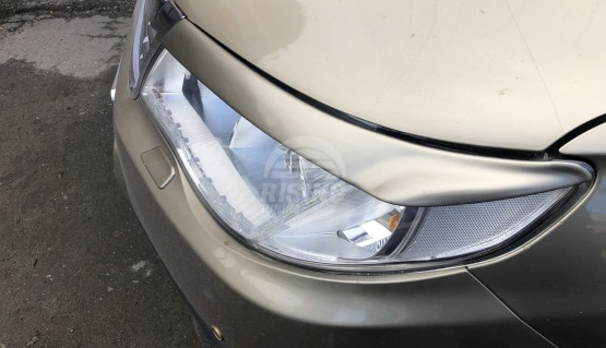 Front eyelids covers for Subaru Forester SH, S12