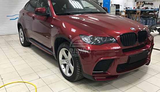 Front eyelids cover for BMW X6 E71, E72