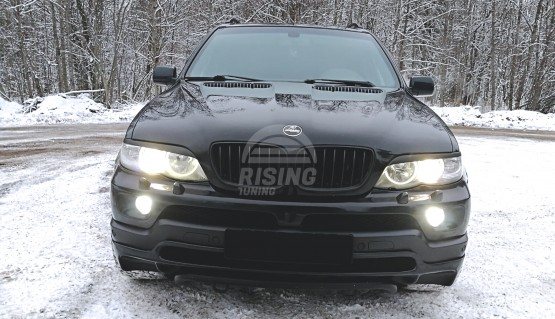 Front eyelids cover for BMW X5 E53 2003-2006