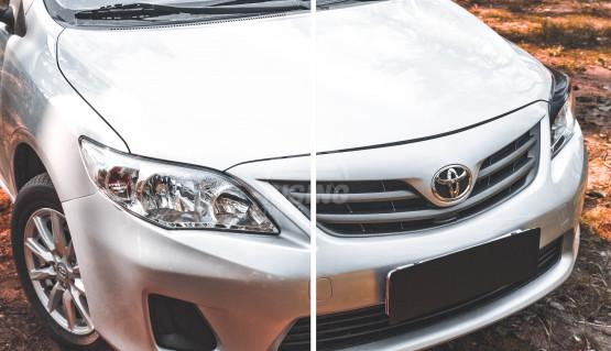 Front eyelids cover for Toyota Corolla E140, E150