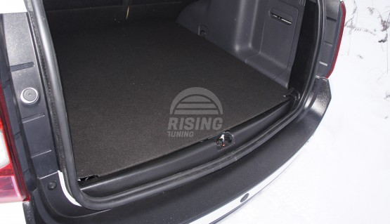 Rear trunk trim cover for Dacia Duster, Renault Duster