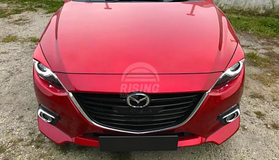 Front lip fangs SkyActiv for Mazda 3 Axela 2013-2016