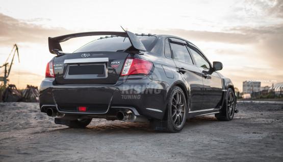 Roof spoiler diffuser for Subaru Impreza 3G 4G, 2007 - 2016