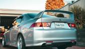 Euro-R Mugen rear wing spoiler for Honda Accord 7 VII / Acura TSX CL7 / CL9 2003 - 2008