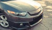 Front Mugen lip for Honda Accord 8 / Acura TSX CU2 2008 - 2010