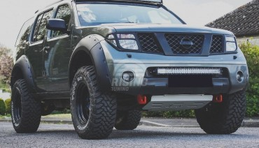 Fender flares for Nissan Pathfinder 2004 - 2013 R51 wheel arch extenders