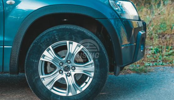 Fender flares for Suzuki Grand Vitara 2005 - 2012 wheel arch extenders