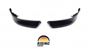 Front Fangs for Mitsubishi Lancer X 2007 - 2012 bumper lip spoiler Evo style body kit