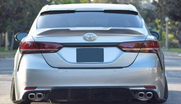 TRD style ducktail spoiler for Toyota Camry XV70 2018 - 2021