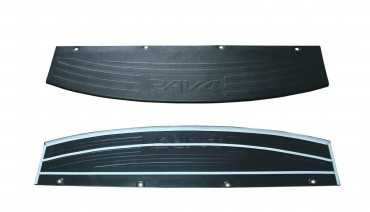 Rear bumper trim for Toyota Rav4 2010-2012 resyling 2 plate sill protector cover