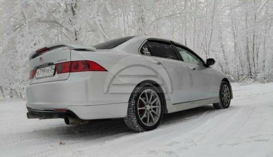 Rear lip Modulo Style for Honda Accord 7 Acura TSX CL7 06-08 Body Kit Splitter