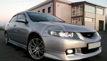 Front lip Modulo Style for Honda Accord 7 Acura TSX CL7 03-05