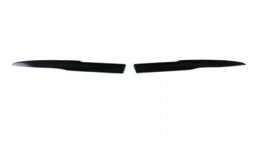 Eyelids eyebrows for Dodge Ram DJ DS 2009-2017 Headlights Covers eyelash cilia