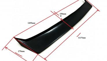 Universal front lip spoiler Ken & Mary style splitter