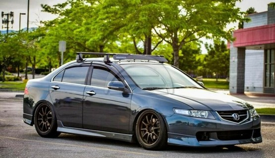 Side Skirts Modulo Style for Honda Accord 7 Acura TSX CL7 03-05 Body Kit Type-S