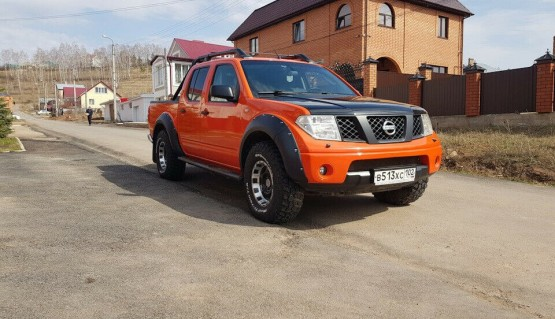 Fender flares for Nissan Navara Frontier D40 Wheel Arch Extensions Extenders