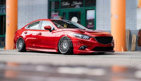 Side skirts SkyActiv for Mazda 6 / Atenza GJ GL 2012 - 2021