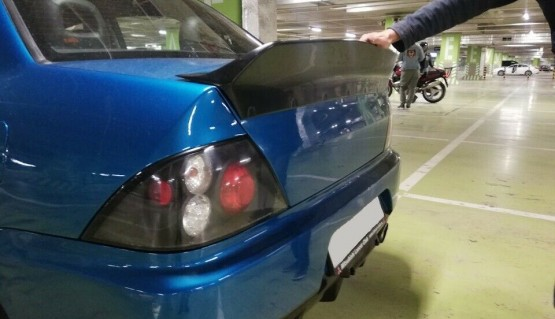 Ducktail for Mitsubishi Lancer / Evolution 7-9 Cedia trunk spoiler boot wing lip