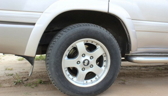 Fender flares for Toyota Land Cruiser 100/105 Wheel Arch Extenders Extensions