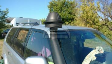 Snorkel Head Raised Mushroom 3' Pre Сleaner Nozzle Intake Filter Air Ram 77mm