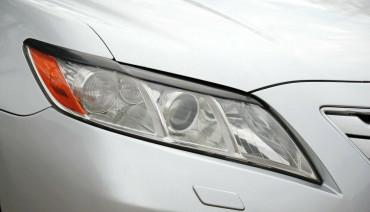 Eyelids eyebrows for Toyota Camry XV40 2006-2011 Headlights cover eyelash