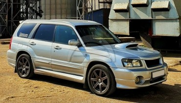 Rare Zero Sports Style side skirts for Subaru Forester SG 02-08 Body Kit SG5 SG9