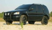 Lift Kit for Mercedes-Benz ML klasse 1.6' 40mm W163 rear strut spacers