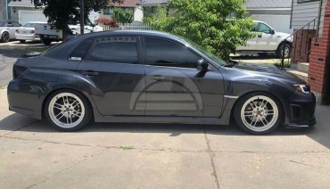 Rear Window Vents for Subaru Impreza WRX STi 08-14 Mesh Plastic 2pcs Pair GRB GE